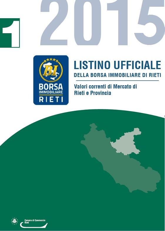 d4f86968da Partono i lavori per il Listino Ufficiale a Rieti - Borsa Immobiliare  Italiana